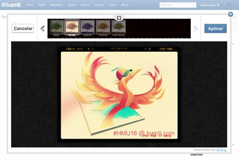 Tuenti photo improver editor de fotos y efectos proyecto for Editor de fotos efectos